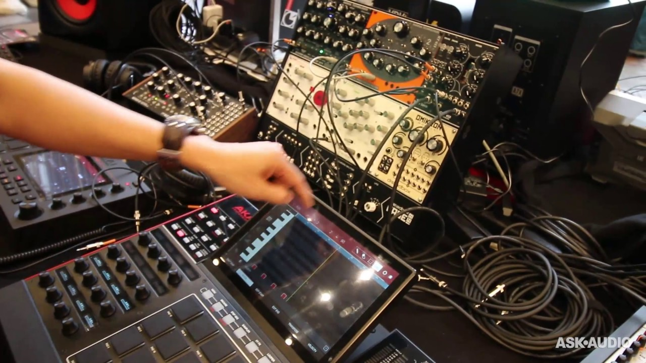 An Akai MPC Controlling Eurorack? The MPC X Can! : Ask Audio