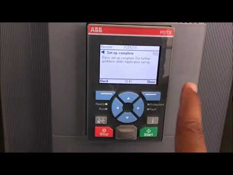 ABB softstarter installation & commissioning on