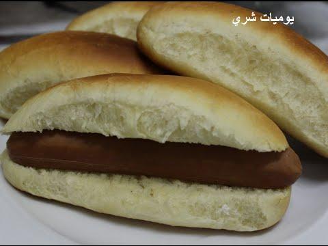 يوميات شري طريقة عمل خبز الساندوتشات او الصاموالي او الفينو