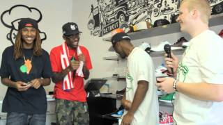 Damon Campbell Interviews Casey Veggies, Josh Peas, and Anwar Carrots
