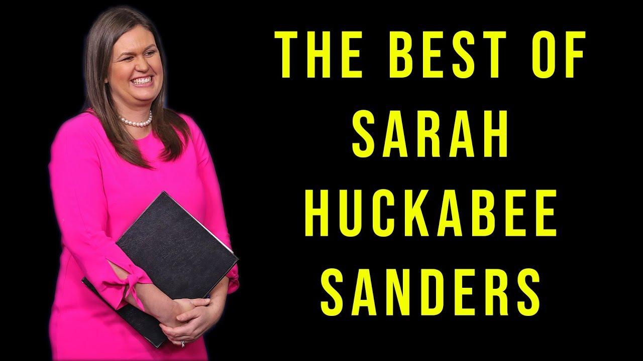 Five Times Sarah Huckabee Sanders Took The Glove Off