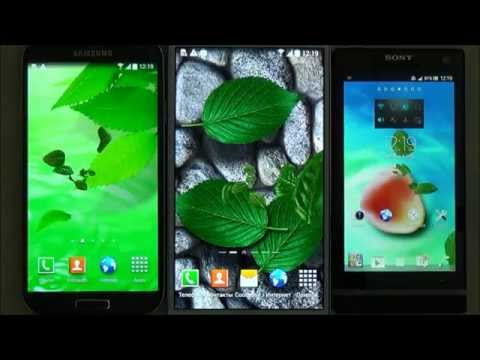 3D Leaves Live Wallpaper - beautiful free live wallpaper for Android phones and tablets
