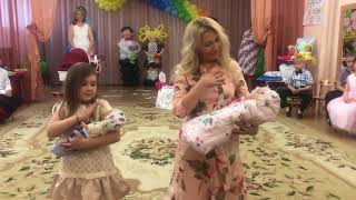 Танец мамы и дочки. Выпускной Детский сад