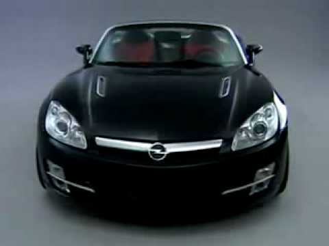 2007 Opel GT Roadster promotional video - YouTube