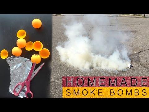 How To Make HOMEMADE SMOKE BOMBS