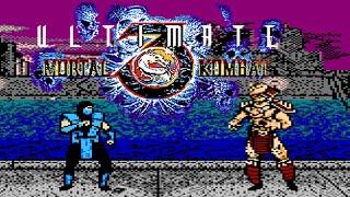 Ultimate Mortal Kombat 3 (Unl) (V3.23b) (NES Pirate) - NES Longplay - SubZero NO DEATH Playthrough