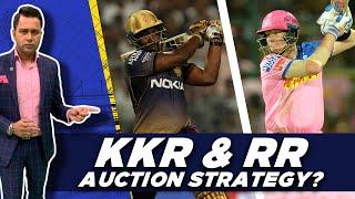 KKR and RR: AUCTION Strategy?   #AakashVaniOnFacebook   IPL Team Previews