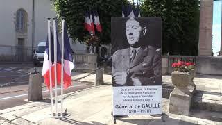 Cérémonie au Monument aux Morts d'Avallon - 1