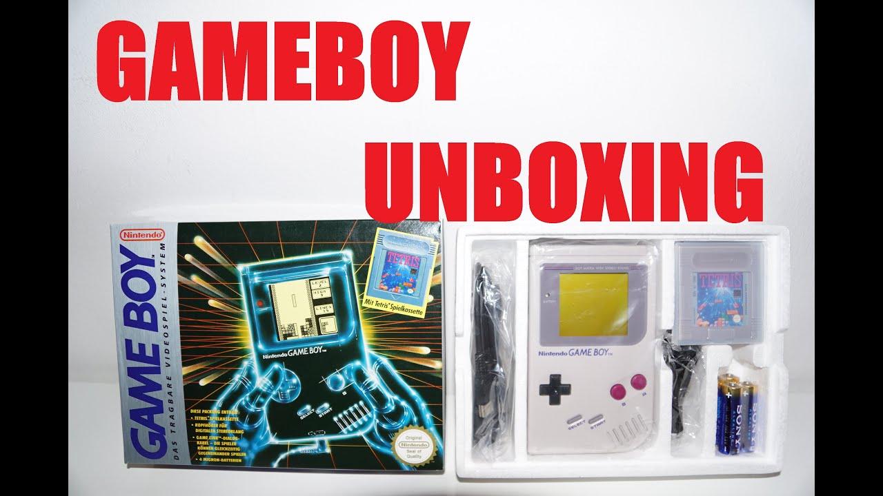 Game boy color kabel - Nintendo Game Boy Retro Unboxing German