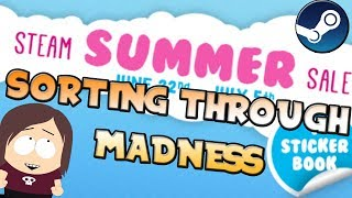 My Thoughts Steam Summer Sale || Top Sales, Sticker Book, Trading Cards, etc.