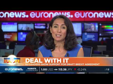 euronews (in English): EU leaders show support for draft Brexit agreement | #GME |