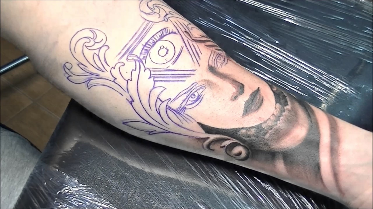 Third Eye Tattoo: Tattoo Time Lapse