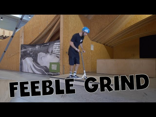 Scooter Tutorial - FEEBLE GRIND // Freestyle Academy Stuttgart