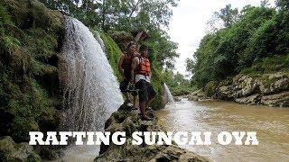 WISATA GUNUNGKIDUL RAFTING ASYIK SUNGAI OYA  jalan-jalan LOST IN INDONESIA  シリーズ11 オヨ川 ラフテイング