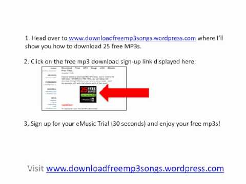Free MP3 Download Sites - How To Get Free Music 100% Legally
