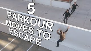 5 Best Parkour Moves to Outrun Anyone - How to Escape