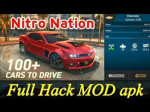 Hack Nitro Nation Drag Racing Unlock Everything 1000% Working