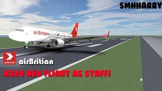 WORKING | airBritain Airbus A320 NEO | ROBLOX