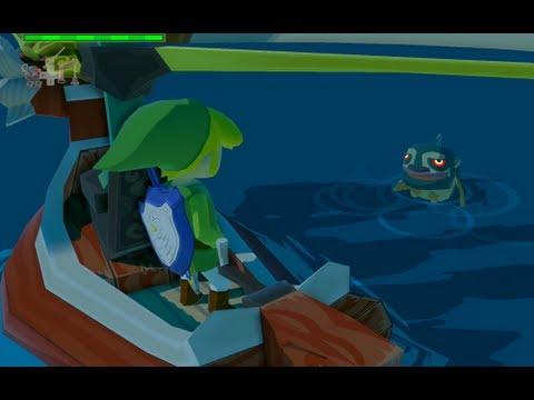 The Legend of Zelda: The Wind Waker HD Walkthrough - Part 20 - Triforce Shard #6 (Ghost Ship)