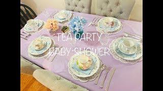 Tea Party Baby Shower || Baby Shower Games || Karaoke ||