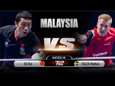 Xu Xin Vs Mattias Falck | T2 Diamond Malaysia (Quarter Finals)
