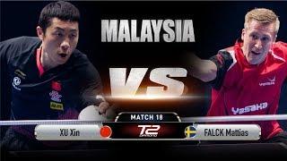 Xu Xin vs Mattias Falck | T2 Diamond Malaysia (Quarter Finals)