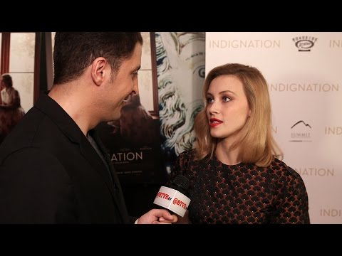 "Sarah Gadon at the ""Indignation"" NY Premiere Behind The Velvet Rope with Arthur Kade"