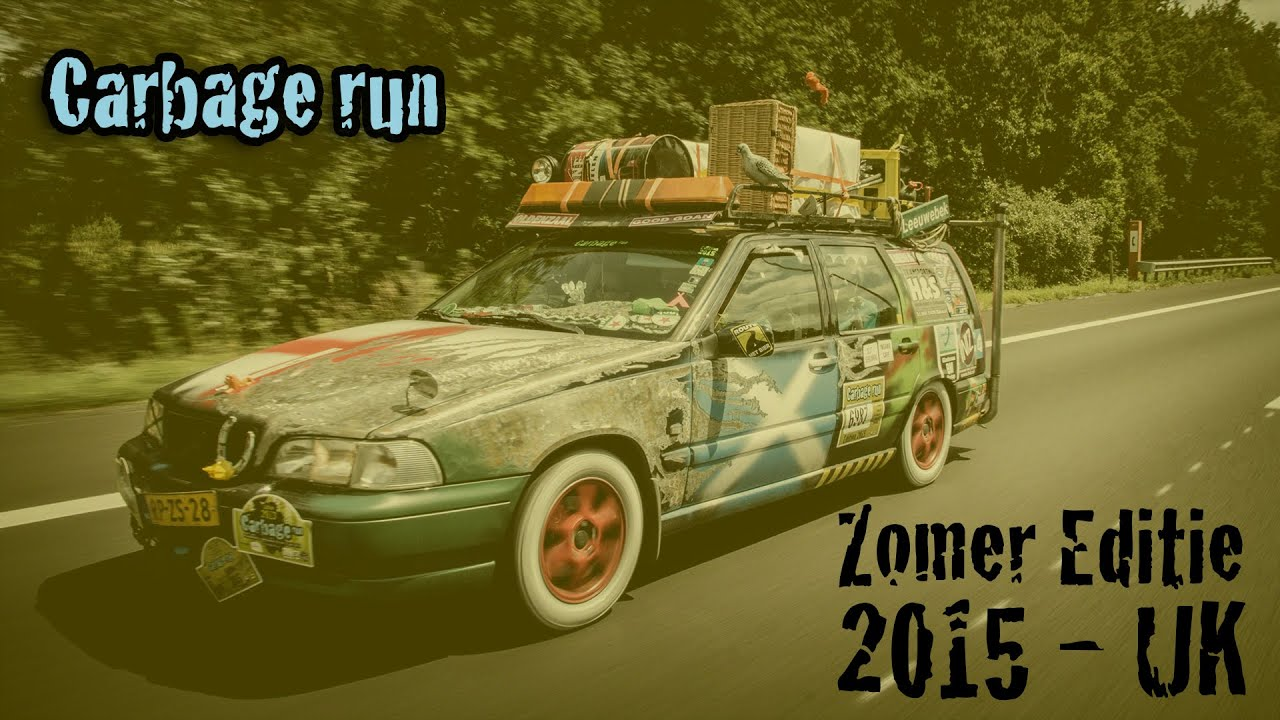 Carbage Run Zomer Editie 2015 Official Aftermovie Youtube