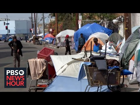 In LA, poverty on Skid Row defies US' humane reputation