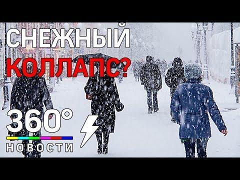 Снежный коллапс в Москве? Тишковец рассказал, что ждёт Московский регион! Погода 21.02