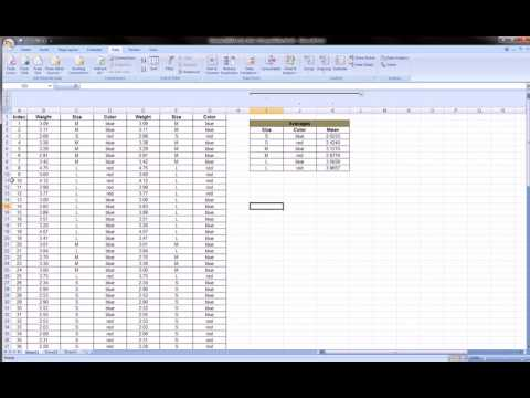 Excel   Grouping   columns and rows
