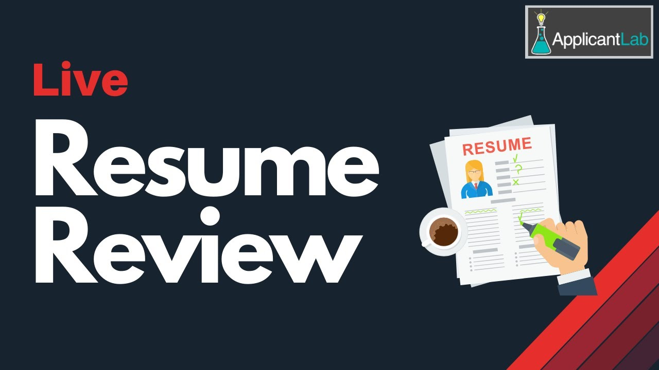 How To Craft The Perfect Mba Resume Live Resume Review With