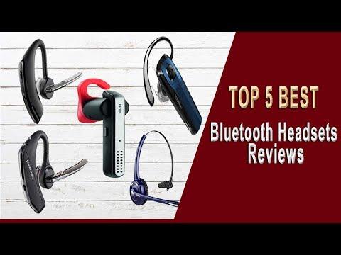 Top 5 Best Bluetooth Headsets | Bluetooth Headset Reviews 2020