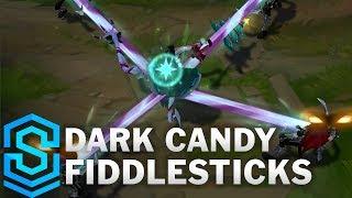 Dark Candy Fiddlesticks (2020) Skin Spotlight - League of Legends