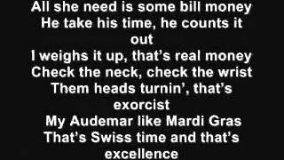 Kanye West-Mercy(Lyrics On Screen)