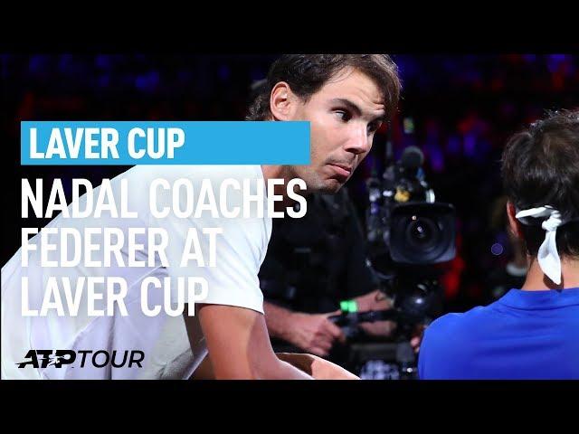 Nadal Gives Federer Tips | Laver Cup | ATP