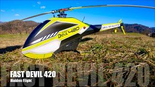 Vidéo: ALZRC DEVIL 420 Combo