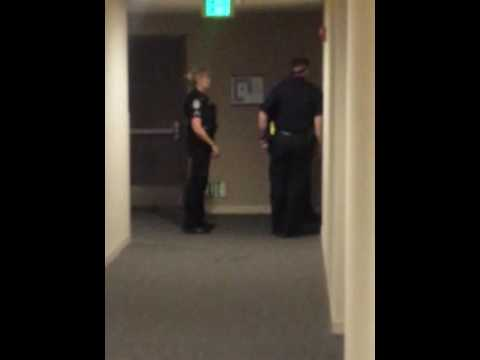 Police harassment abusing their power of law entering somebody place of residence without a warrant