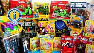 imaginext batman joker the penguin hero world dc super friends fisher price marvel toy haul