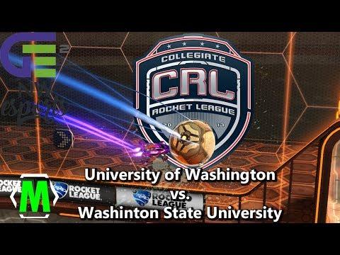 Collegiate Rocket League | UW vs. WSU | 20171023 | GE2 LAN