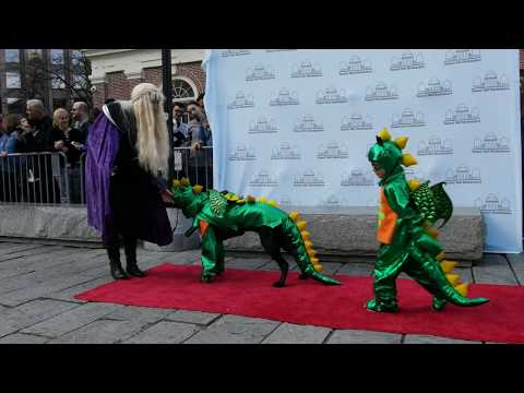 Halloween Pet Parade & Costume Contest 2017 Faneuil Hall 4K - Yi M1 camera - 3.0 firmware