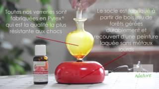Diffuseur d'huiles essentielles Galea rouge