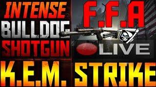 """Cod Ghosts : Flawless  Ps4 F.f.a K.e.m Strike W/ Bulldog Shotgun On """"tremor"""" Live"""