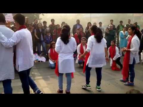 Nukkad Natak on Beti Bachao by Students of Modern Convent School