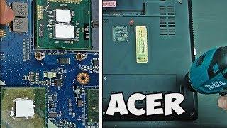 как восстановить петли ноутбука. Ремонт ноутбука acer aspire 5742g