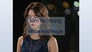 {LYRICS} OST MARRIAGE NOT DATING 연애 말고 결혼 || Kim Na Young - Hope And Hope