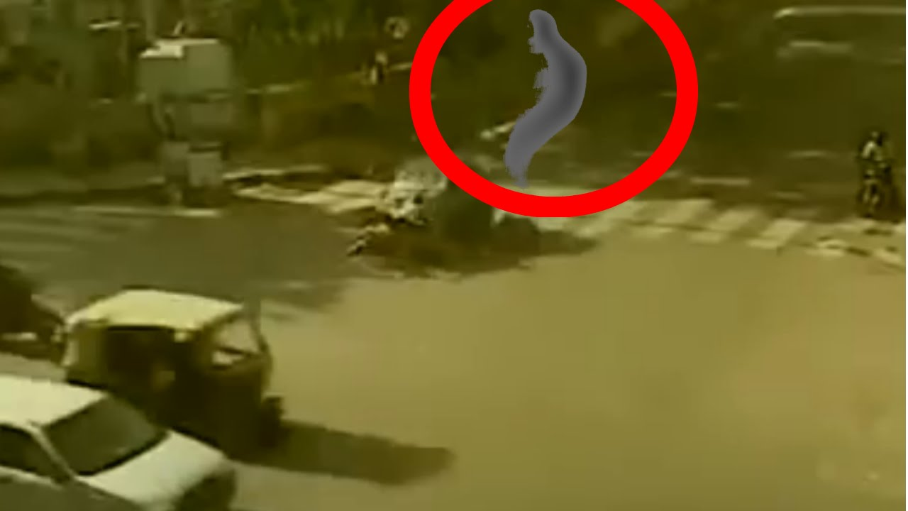 Ghost Spirit Caught At Accident Site Human Soul Out Of