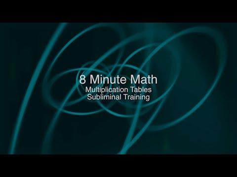 8 Minute Multiplication Text - Subliminal Training