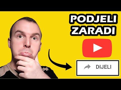 Zaradite Novac Djeljenjem YouTube Klipova | Zarada preko Interneta