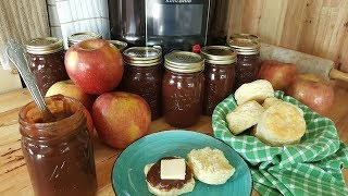 Old Fashioned Apple Butter - 100 Year Old Recipe - The Hillbilly Kitchen